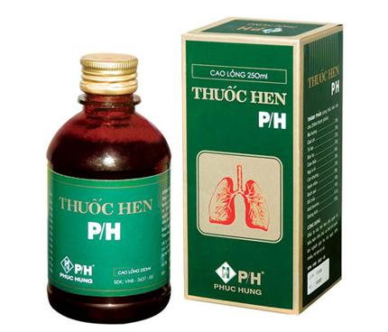 thuốc hen ph