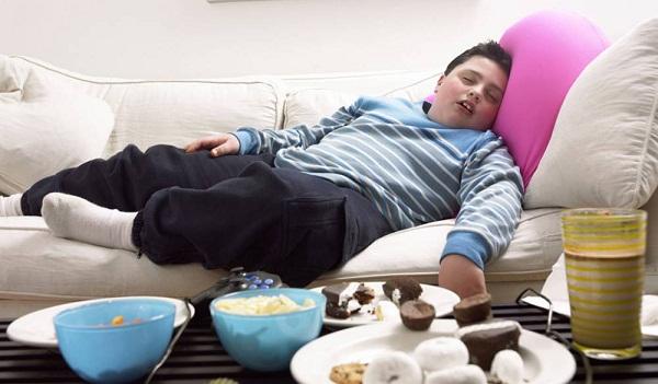 trẻ béo phì dễ mắc hen suyễn nặng hơn