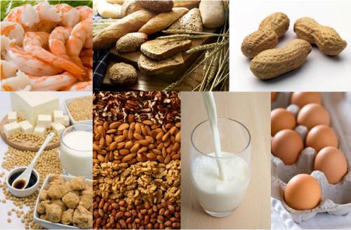 Những loại thực phẩm dễ gây dị ứng