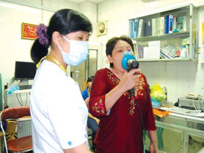 phổi tắc nghẽn mạn tính
