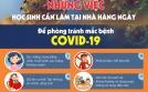 Học sinh cần làm gì những gì để phòng đại dịch COVID-19 khi ở nhà?