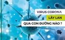 Virus Corona (nCoV) có thể lây qua qua aerosol (KHÍ DUNG)