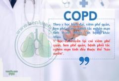 Phác đồ điều trị phổi tắc nghẽn mạn tính theo hướng dẫn của Bộ Y tế